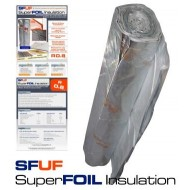 SFUF Superfoil underfloor Insulation 1.5m x 12.5m x 6mm (18.75m2 roll)
