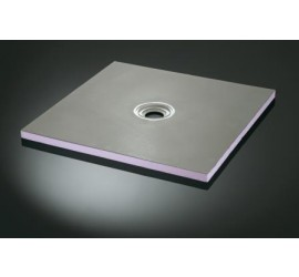 20mm thick Shower trays with centre drain location - available in various sizes