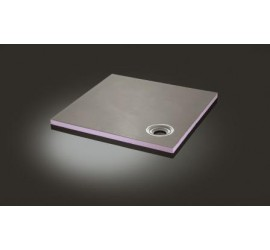 20mm & 25mm thick Shower trays with Off-set drain location - available in various sizes