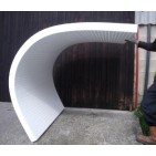 Slotted Polystyrene for curved applications 2400mm x 1200mm x