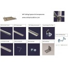 MF Ceiling System - various components