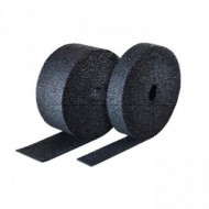 Rubber Isolation roll 10m long x 6mm thickness - available in various widths