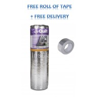 YBS Superquilt 1.5m x 10m x 40mm (15m2 roll) with Free Tape & Free delivery